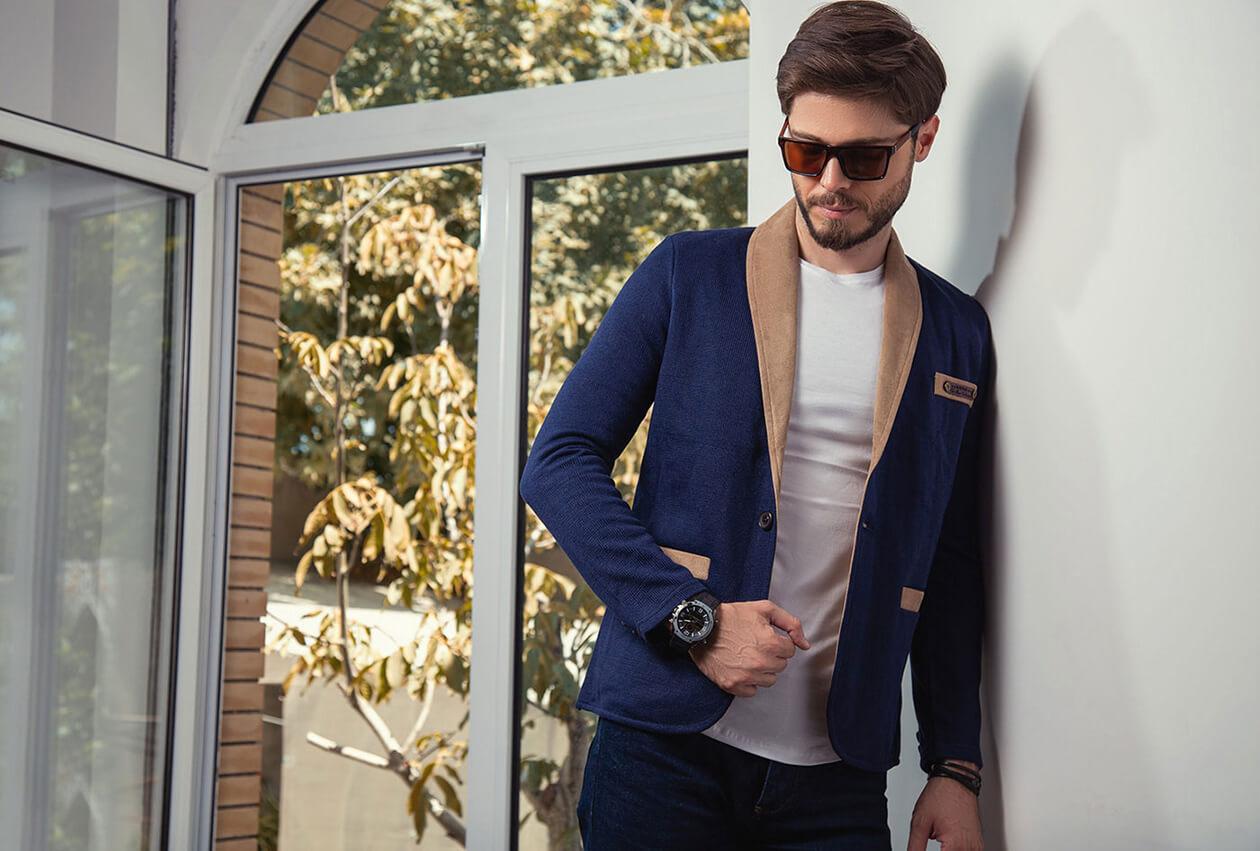 عکاسی مدلینگ مخصوص پوشاک مردانه