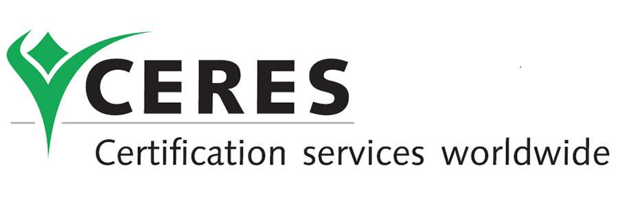 گواهینامه زعفران ارگانیک Ceres