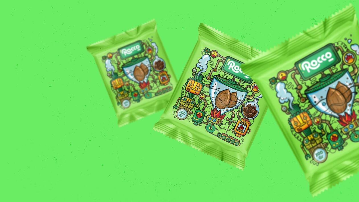 بسته بندی شکلات تلخ