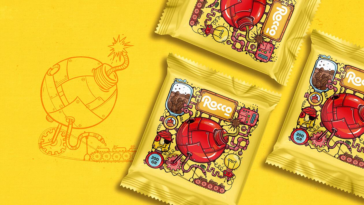 طراحی بسته بندی خاص شکلات