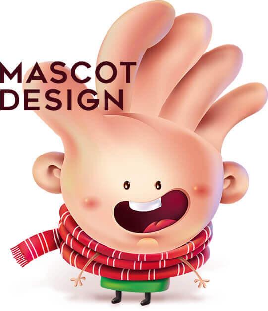 طراحی مسکات و کاراکتر تبلیغاتی