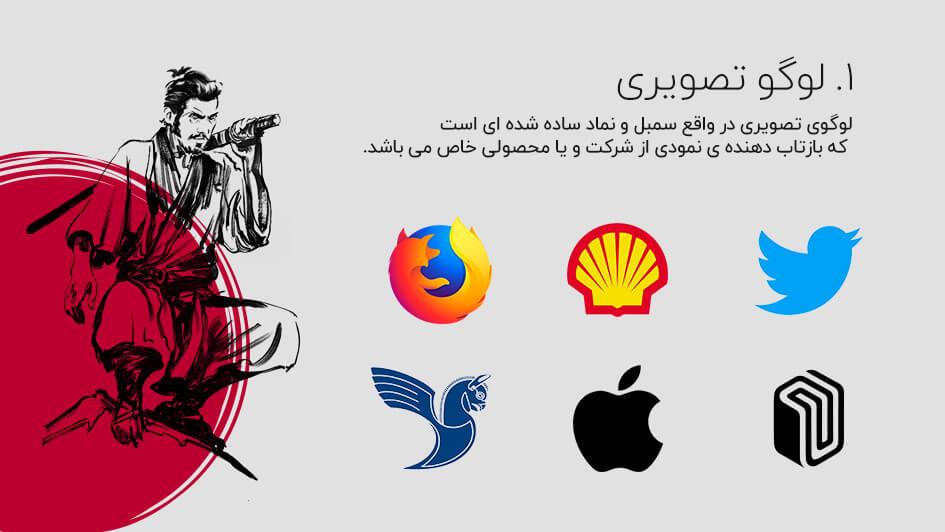 انواع لوگوی تصویری
