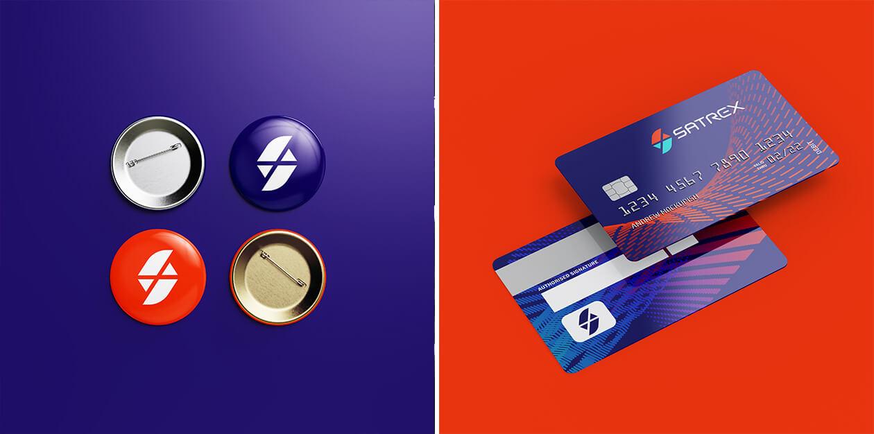 کارت اعتباری و بج سینه