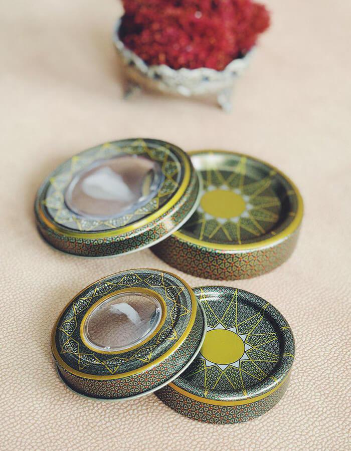 قوزی فلزی خاتم مناسب برای صادارت زعفران