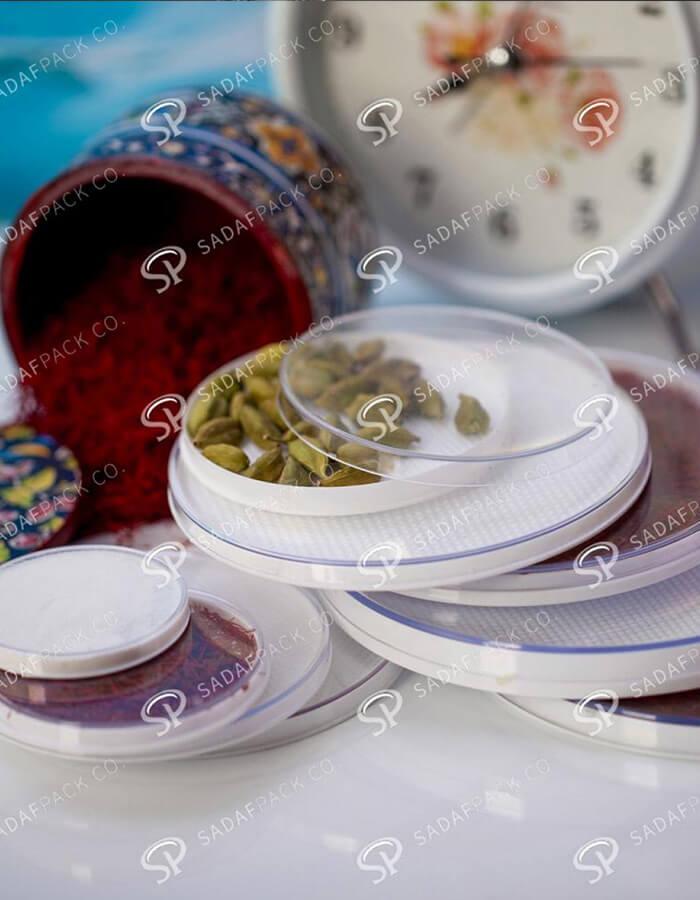 ظروف پلاستیکی مخصوص بسته بندی خشکبار و زعفران