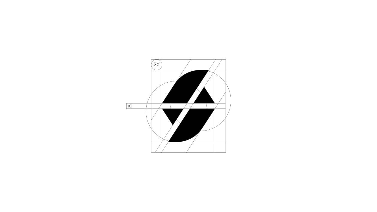 طراحی لوگوی تصوری بصورت مونوگرام