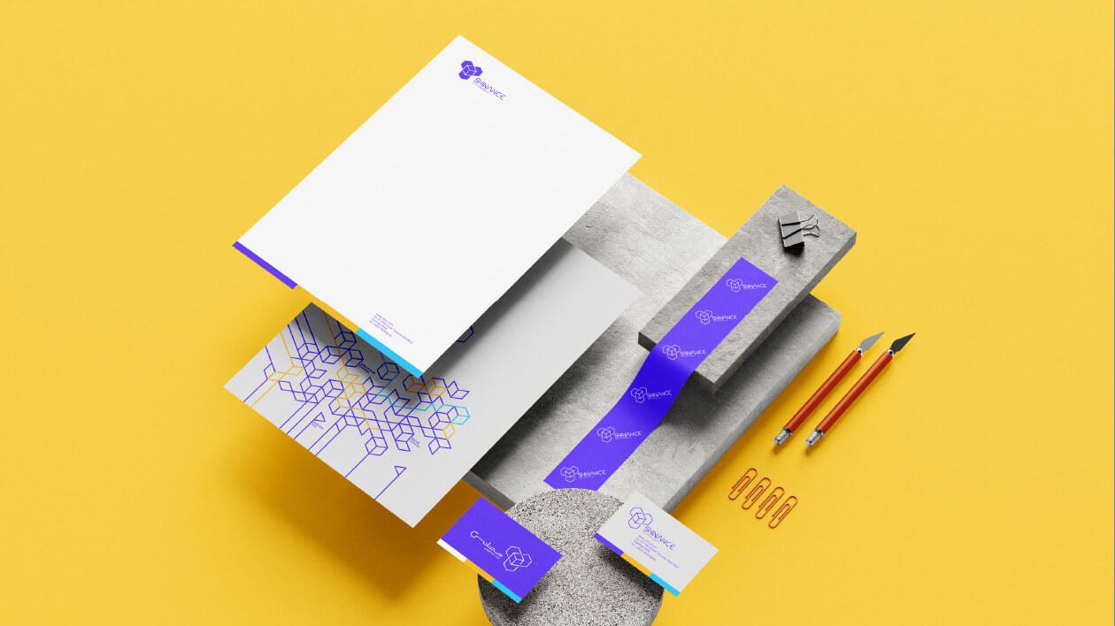 طراحی هویت سازمانی برند شینانس