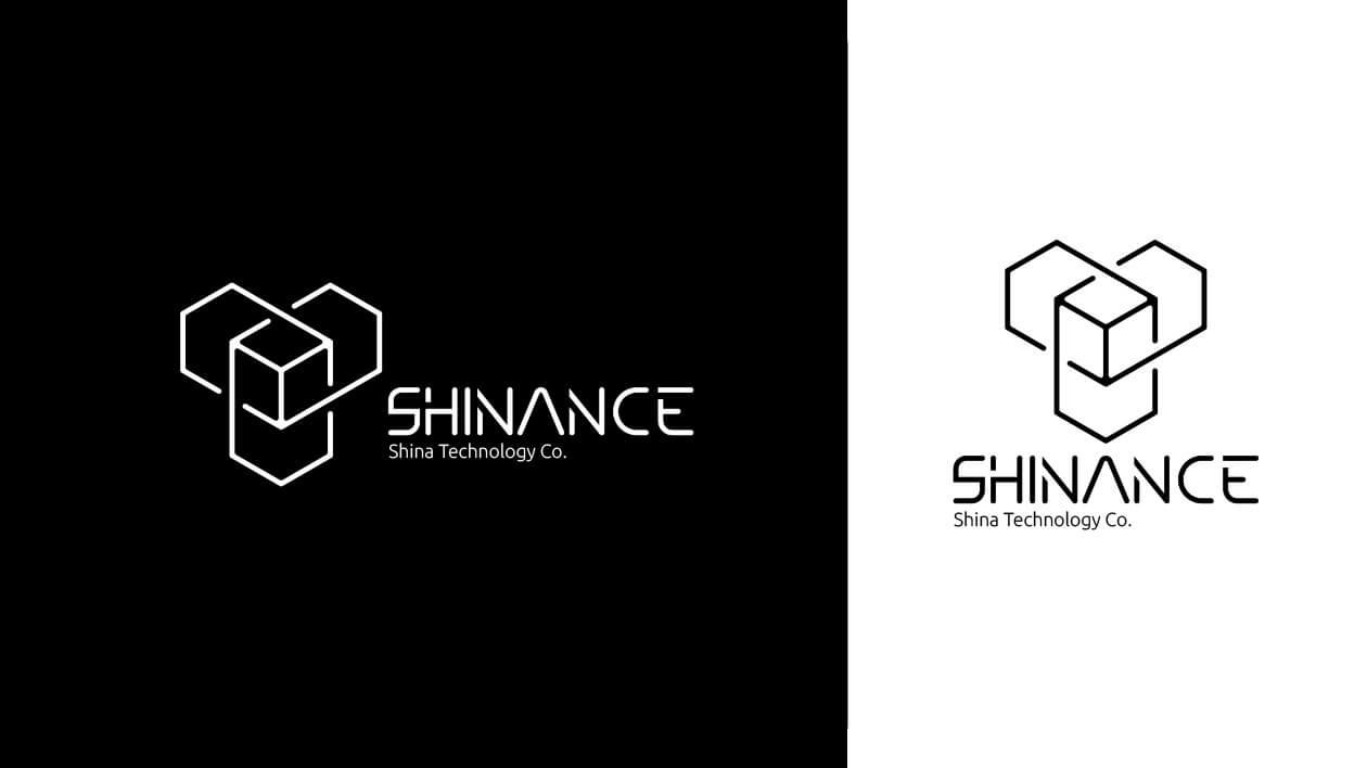 طراحی لوگوی شرکت فناوری شینانس